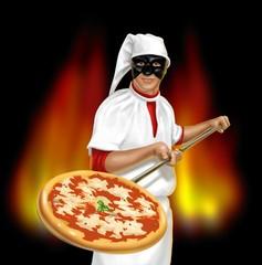 pizzaiolo pulcinella