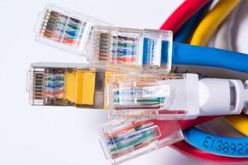 Patchkabel computer Netzwerk
