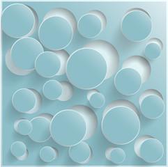 Vector circle Abstract web design bubble, vector