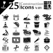 Construction icons set, basic series