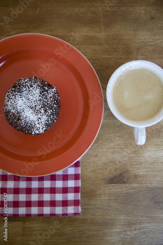 Muffin und Kaffee