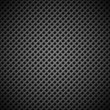 Background with Seamless Black Carbon Texture