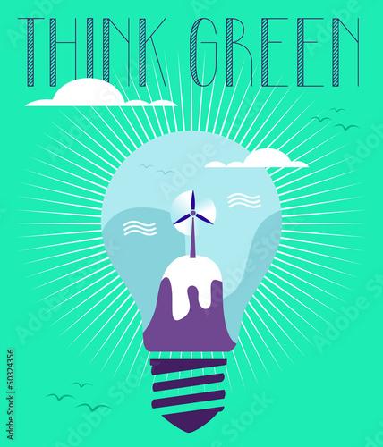 Green idea concept