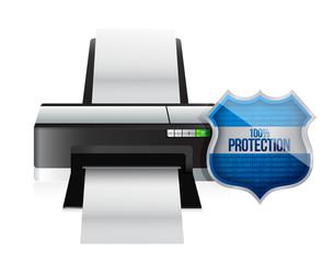 printer shield security protector