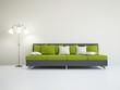 Livingroom with sofa