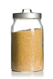 brown sugar in jar