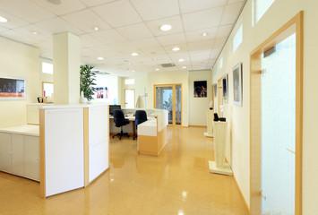Büro Grossraumbüro