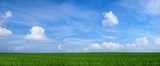 Fototapety Panoramabild Landschaft