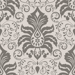 Seamless ornate vintage wallpaper pattern