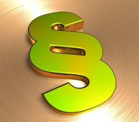 3D Goldzeichen II - Paragraph