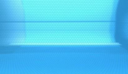 Fondale texture mattonelle blu, disco