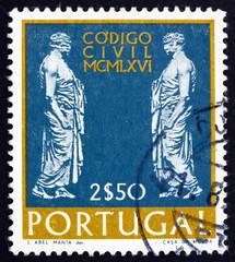 Postage stamp Portugal 1967 Statues of Roman Senators