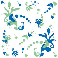 snail, pattern