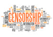 "Word Cloud ""Censorship"""