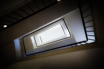 Entryway in a building.