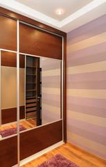 modern wardrobe interior