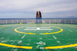 Salty helicopter pad