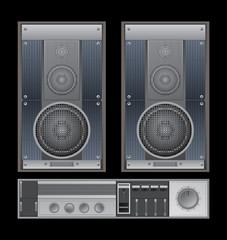 retro sound system