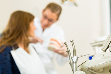 Werkzeug für einen Zahnarzt