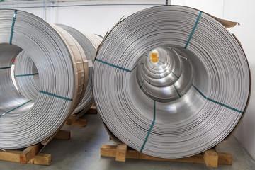 Aluminium spools