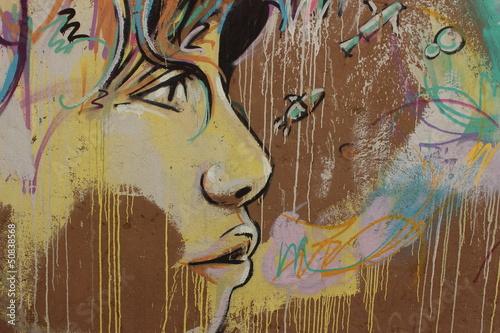 graffiti on Rome's wall - 50838568
