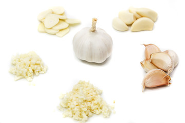 Prepare garlic for cooking