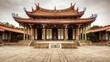 Leinwanddruck Bild - Taipei Confucius Temple