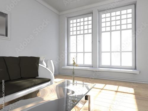 Wohndesign wohnzimmer in weiss von snowfloqqe for Wohndesign wohnzimmer
