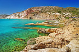 Milos island beaches. Greece