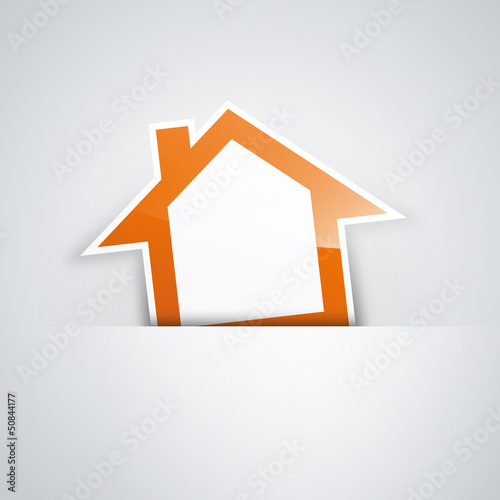 Vector Logo orange house