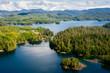 Alaska Prince of Wales island Ketchikan Aerial view