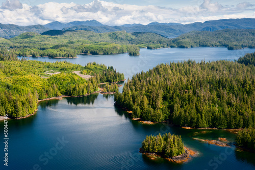 Alaska Prince of Wales island Ketchikan Aerial view - 50844746