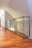 Grand design - glass banister
