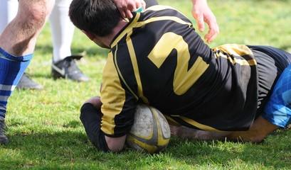 plaquage au rugby