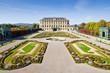 Palace Gardens at Vienna