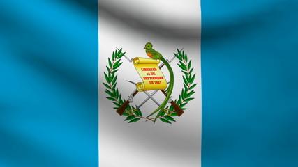 Guatemala flag.