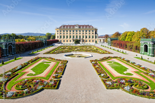 Palace Gardens at Vienna