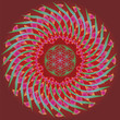 Flower of life seed spring edition mandala