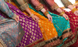 Fototapety Bollywood dancers dress