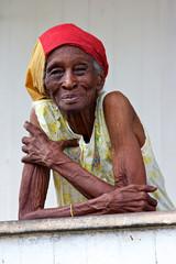 vieille dame créole