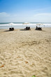 kuta beach golden sand resort indonesia