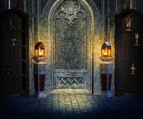 Gothic Interior Background