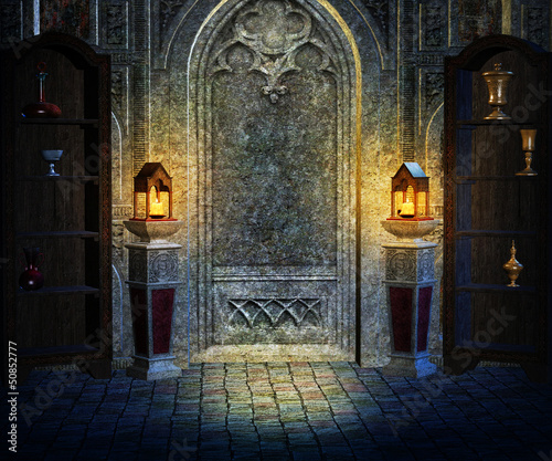 Gothic Interior Background