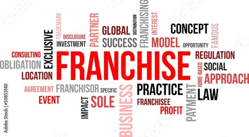 word cloud - franchise
