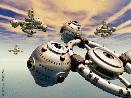 Raumschiffe in der Erdatmosphäre