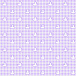 Purple Gingham Fabric with ducks Background