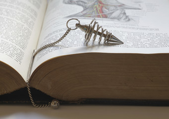 Dowsing with an old medical book