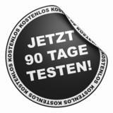 3D Aufkleber Schwarz - Jetzt 90 Tage testen