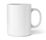Tasse sur fond blanc 1