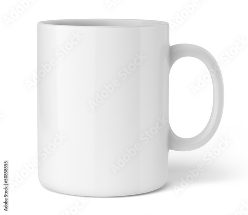 Tasse sur fond blanc 1 - 50858555